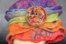 Other Art .. Wet Felting / Besides bear making there are many other art/crafts I like to do. One of them is wet Felting. On this board I pin pictures from my finished wet felt projects. Some will be available for sale.  Hope you enjoy them.