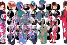 Rainbow Kimono/ きもの/着物 <(_^_)>