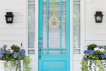 Exterior Home & Garden / by Theresa Hullinger