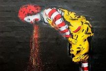street art / witnessing something wonderful on your way home