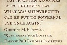 """Quotes / Quotes from the book """"Questioning Your Doubts: A Harvard PhD Explores Challenges to Faith"""" www.ivpress.com/questioning"""