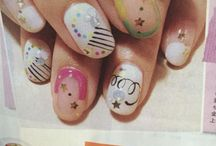 NAIL IDEAS from magazines / by Momoko Cunneen
