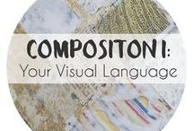 Composition I: Finding Your Own Visual Language / Excerpts and examples from my online design composition class. Want to study design principles, abstraction and developing a series of your own? Sign up on my website. Classes begin three times a year! Limited to 12 people and we have a really great time!
