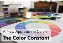 A New Approach to Color: The Color Constant / Excerpts and examples from my online color class - a six session, twelve week class designed to teach artists (and everyone else, for that matter) - how to mix colors masterfully from any paint or dye on hand!