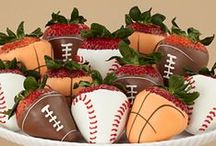 Sports Themed Food / Food ideas that are perfect for kid's birthday parties, for after game treats, and end of year banquets