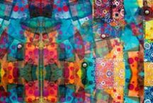 """The Best of Digital Printing / Gorgeous, inspiring examples of fabrics designed by artists and printed by """"on demand"""" sites like spoonflower.com."""