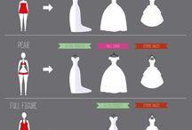Welches Brautkleid steht mir? / Übersicht der klassischen Brautkleider Schnitte. Wir schneidern dein Traumkleid, schreib uns einfach, was du willst.