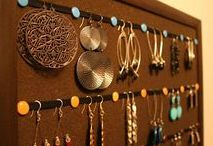 Jewelry Care and Organization Ideas / DIY ideas on how to clean and care for your jewelry, organize and store your jewelry, or arrange it on display.