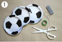 Sports Party Ideas / Decorations and other fun ideas for game day parties, end of year sports parties, or sports themed birthday parties.