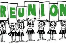 Class Reunion Ideas / Ideas for High School and College Alumni Reunions ... using the school colors, mascot, etc for lots of school spirit