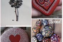 Rock Painting / Ideas for rock painting