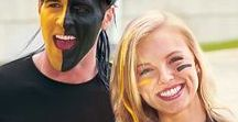 Game Day Face Paint / Get your game face on with these ideas on how to paint your face!