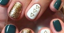 Nail Design Ideas / Show your style with nail art to match your fashion outfit or game day style.