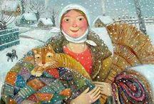 Children's Books & Art I Love / by Pamela Graffius