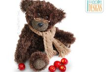 AMIGURUMI / Knit and Crochet Patterns by IraRott Inc. / by IraRott Inc.