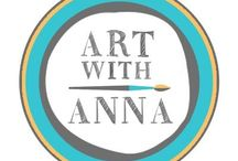 Artwork of Art With Anna / What comes out at Art With Anna! www.artwithanna.com