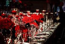 Red Wedding Inspiration / by Intertwined Events