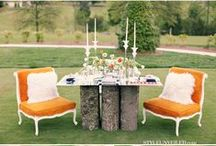 Orange Wedding Inspiration  / by Intertwined Events