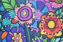 Flower Power / Flower Art Inspiration!