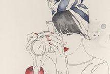 Illustration / by VaLe La Pena