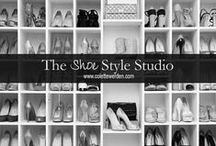 The Shoe Style Studio / As soon as she slips on her shoes, her body language and attitude is transformed. She is lifted physically and emotionally. www.colettewerden.com