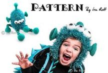Crochet MONSTERS Patterns / PDF Patterns, designed by Ira Rott  / by IraRott Inc.