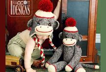 MONKEYS / Knit and Crochet Patterns by IraRott Inc. / by IraRott Inc.