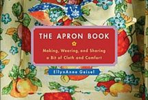 Apron strings / I love aprons!  Old, new, recycled, homemade!   / by Connie Jervis