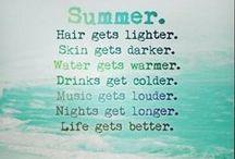 Summer Time☆ ❤ / by Sahayla Haar ☆