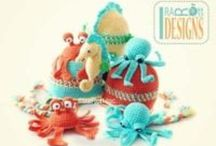 SEA CREATURES / Knit and Crochet Patterns by IraRott Inc. / by IraRott Inc.