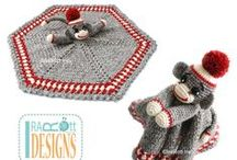 LOVEYS and BLANKETS / Knit and Crochet Patterns by IraRott Inc. / by IraRott Inc.
