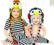 CHRISTMAS / Penguin, Santa, Snowflake, Reindeer, and other Christmas Animal Hats, Toys, Rugs, and Scarves PDF Knit and Crochet Patterns with instant download.