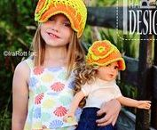 """DOLL OUTFITS / Doll Hats and Clothing Knit and Crochet Patterns by IraRott Inc. All for 18"""" Dolls here."""