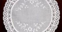 bordados calados decoracion / bordados calados,carpetas, decoracion