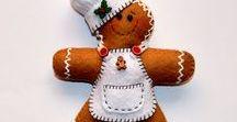 decoración navidad en fieltro / handmade felt christmas tree decorations  #handmade #christmas #navidad #decoracion #hechoamano #decorations #felt