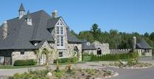 Castle Farms in Charlevoix, Michigan / Visit Northern Michigan's very own castle in Charlevoix!  Take time out of your day to stroll through the gardens and historic walls of this unique Charlevoix experience!  http://www.visitcharlevoix.com
