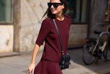 Colour of the season: Marsala / Pantone has officially declared Marsala the colour of the year for 2015. Here's our guide on how to decant just the right amount into your AW15 look. / by Farfetch