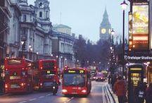 London baby! / by Agnieszka .