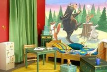 Children's Wall Murals by Phyllis Harris / Wall Murals by artist, Phyllis Harris