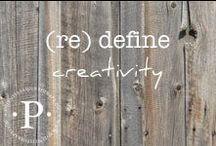 (re) define creativity / (re) define creativity