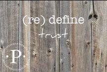 (re) define trust / (re) define trust