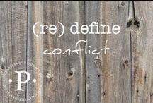 (re) define conflict / (re) define conflict