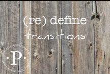 (re) define transitions / (re) define transitions