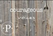 courageous voices