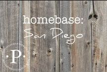 homebase: san diego / I have been so blessed to live in many different places. The travel, the culture and the friends I have made in my list of home towns have left footprints on my heart for life. San Diego is the place where I have made roots, found love, started a family and living out a dream personally and professionally.