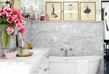 Bathroom / Beautiful bathrooms, tiles, basins, bathroom layout, bathroom decoration / by Linda Logan