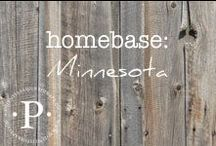 homebase: minnesota / I have been so blessed to live in many different places. The travel, the culture and the friends I have made in my list of home towns have left footprints on my heart for life.