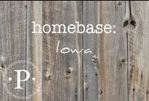 homebase: iowa / I have been so blessed to live in many different places. The travel, the culture and the friends I have made in my list of home towns have left footprints on my heart for life.