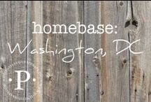 homebase: washington, dc / I have been so blessed to live in many different places. The travel, the culture and the friends I have made in my list of home towns have left footprints on my heart for life.
