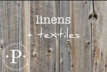 linens + textiles
